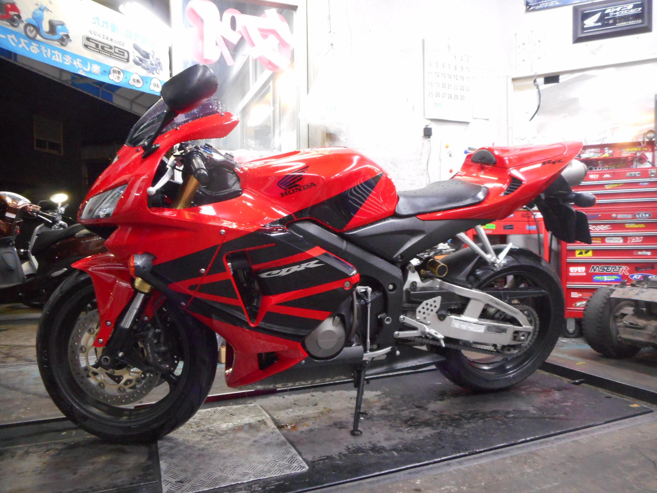 極上cbr600rr入荷しました 新車バイク 中古バイクの販売